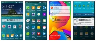 Inikah Tampilan Android L di Samsung GalaxyS5
